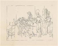 umrisse zu goethe's faust (set of 40) by friedrich moritz august retzsch