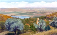 ayalon valley by yehuda armoni