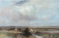norfolk landscape by john ormanroyd