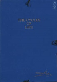 the cycles of life (portfolio of 3) by salvador dalí