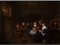 musizierende gesellschaft by jan miense molenaer