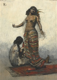 the slave girl by henri regnault