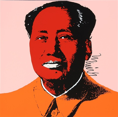 mao 2 works by andy warhol