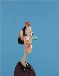 profile view by george condo