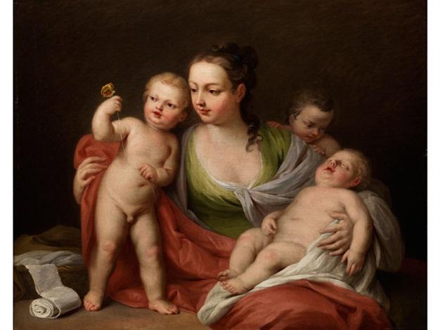 allegorie der caritas by jacopo amigoni