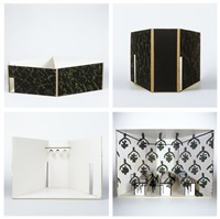 la correspondance (set of 4) by luc tuymans