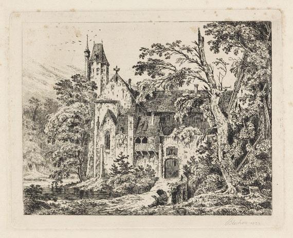 kloster im walde by carl blechen