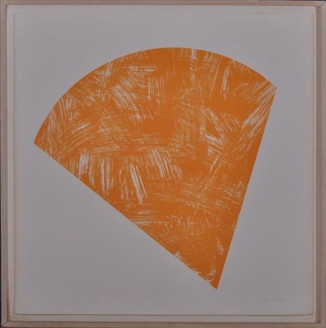 untitled orange by ellsworth kelly