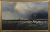 new york harbor by james hamilton