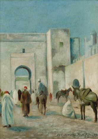 porte à fez maroc by roméo aglietti