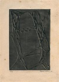 gravure rehaussée by raoul ubac