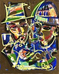 joseph beuys & gunther tollmann by markus tollmann
