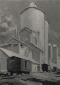 grain elevator by john f. swalley