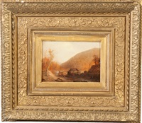 in the wilderness by jasper francis cropsey