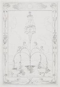 die vier tageszeiten (portfolio of 4) by philipp otto runge