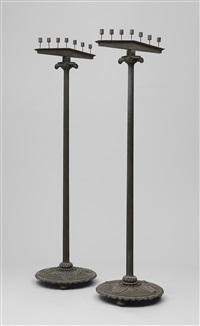 golvkandelabrar (pair) by harald wadsjö