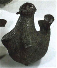 walroß-dame (brunnenfigur) by maria bilger-biljan
