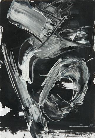 emerging (t-c.s.h.) by emilio vedova