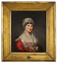 portrait of mrs. robert patterson iii (amy hunter ewing, 1751-1844) by charles willson peale
