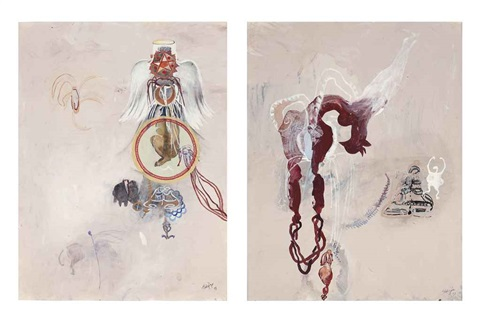 wings veils and dresses i untitled 2 works by shahzia sikander