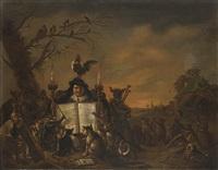 allegoria della musica con personaggio e animali by flemish school (18)