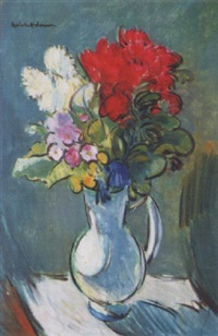 blumen in vase by robin anderson