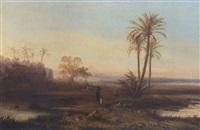 südliche landschaft by albert henning