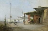 taverne am hafen by jean d' alheim