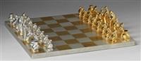 schackspel med 32 spelpjäser by marie-louise idestam-blomberg