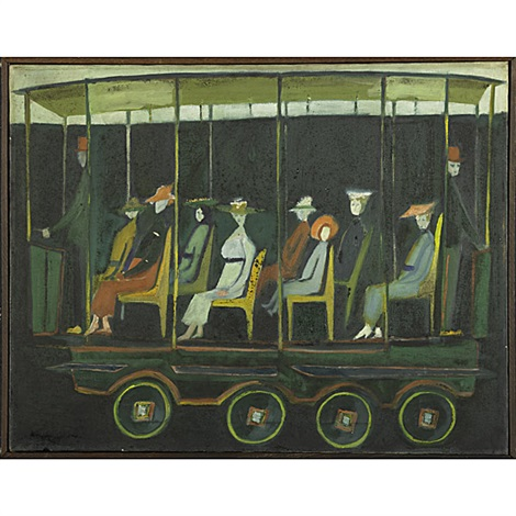 untitled trolley by hedda sterne