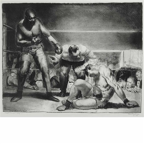 the white hope by george wesley bellows