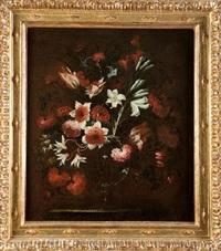 jarrón con flores by josé de arellano