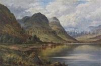 loch triochatan, argyllshire by henry decon hillier