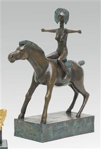 cheval et cavalier by jef van tuerenhout