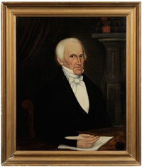 dr. samuel bullock of rehoboth, massachusetts by joseph whiting stock
