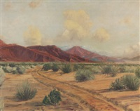 california desert landscape by james arthur merriam