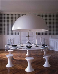 dining table by piet hein, bruno mathsson and arne jacobsen