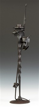 candle holder by albert paley