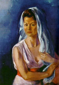 portrait of a woman by frederick taubes
