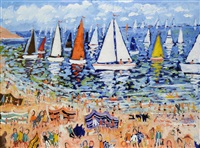sailing competition by simeon stafford