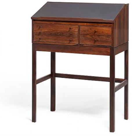 Superb Tall Writing Desk By Andreas Hansen