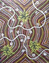 possum country by clifford possum tjapaltjarri