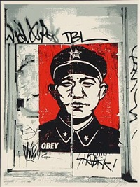 one hell of a leader by shepard fairey