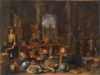 im laboratorium eines alchimisten by giovanni domenico valentino