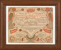 birth certificate by johann jacob friedrich krebs