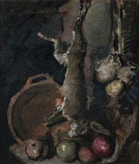 bodegón con liebre by josé maría labrador arjona
