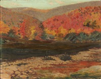 sugar maples by charles lennox-wright
