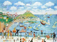 the island, st. ives by simeon stafford