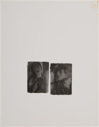 tree house and two faces (2 works) by francesca woodman