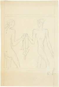daphnis und chloe by renée sintenis